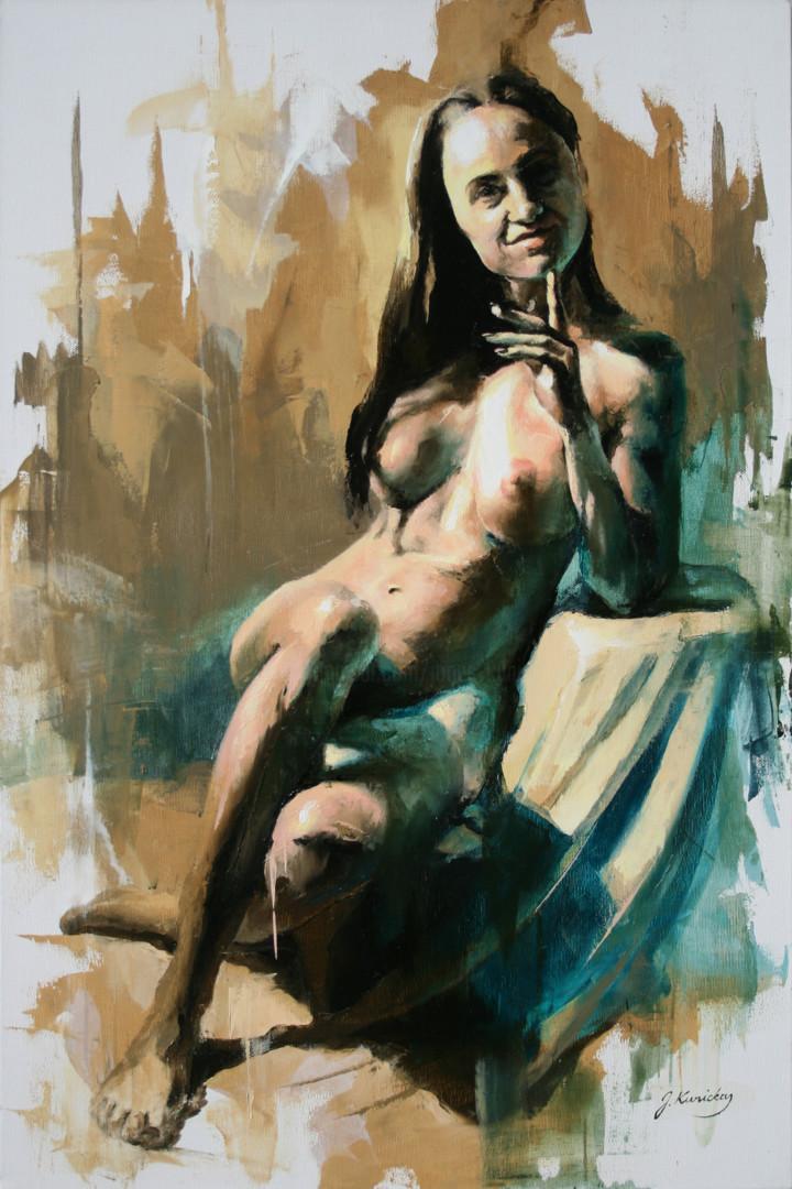 Jonas Kunickas - JK19-0212 Nude Portrait