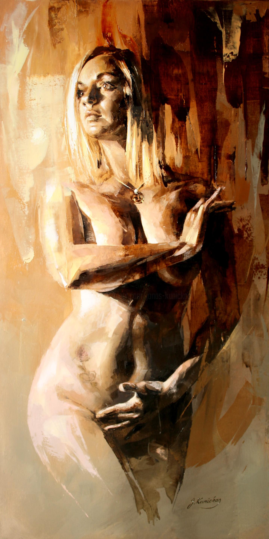 Jonas Kunickas - JK20-1020 Nude Portrait