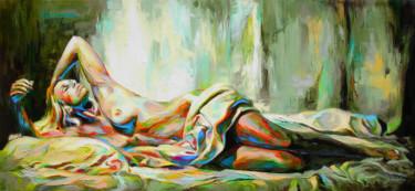 Painting, oil, figurative, artwork by Jonas Kunickas