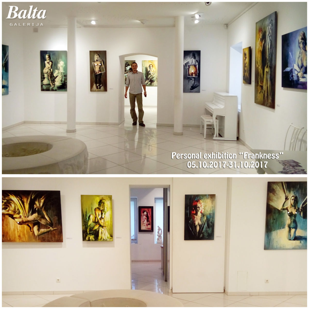 Personal Exhibition at Balta Gallery